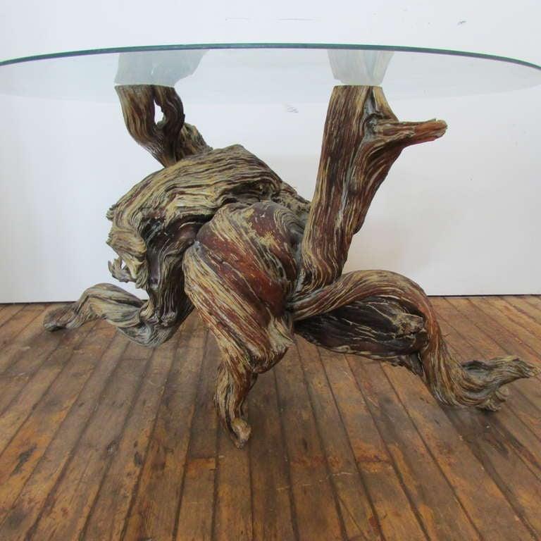Driftwood Redwood Burl Root Sculpture / Table Base 1