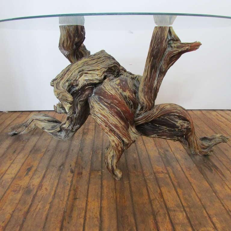 American Driftwood Redwood Burl Root Sculpture / Table Base