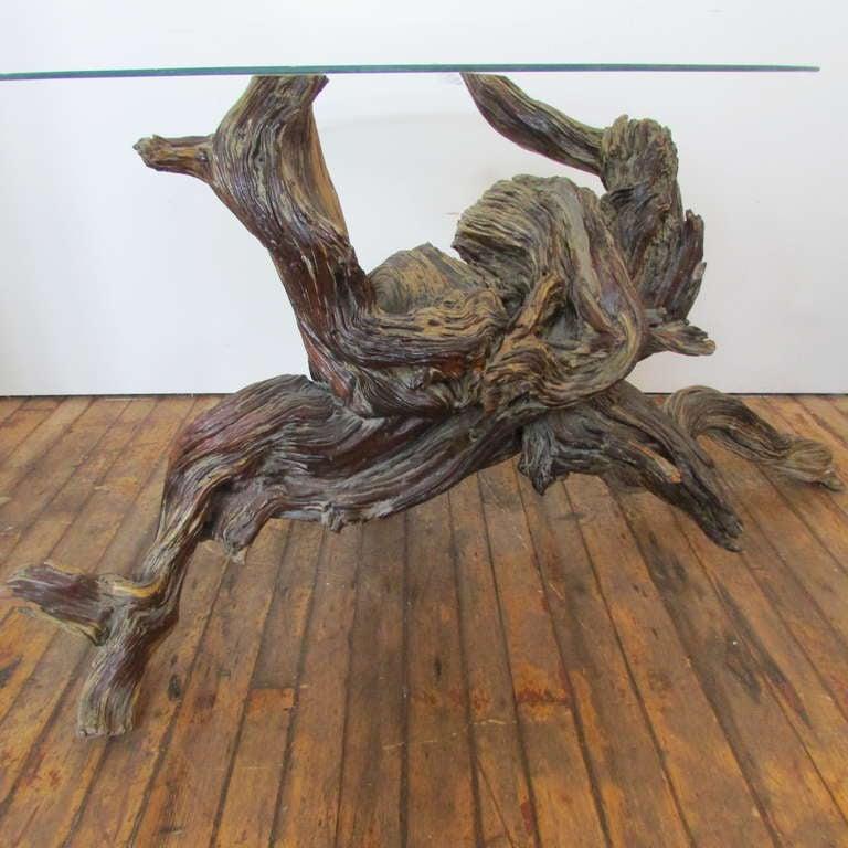 Driftwood Redwood Burl Root Sculpture / Table Base 2