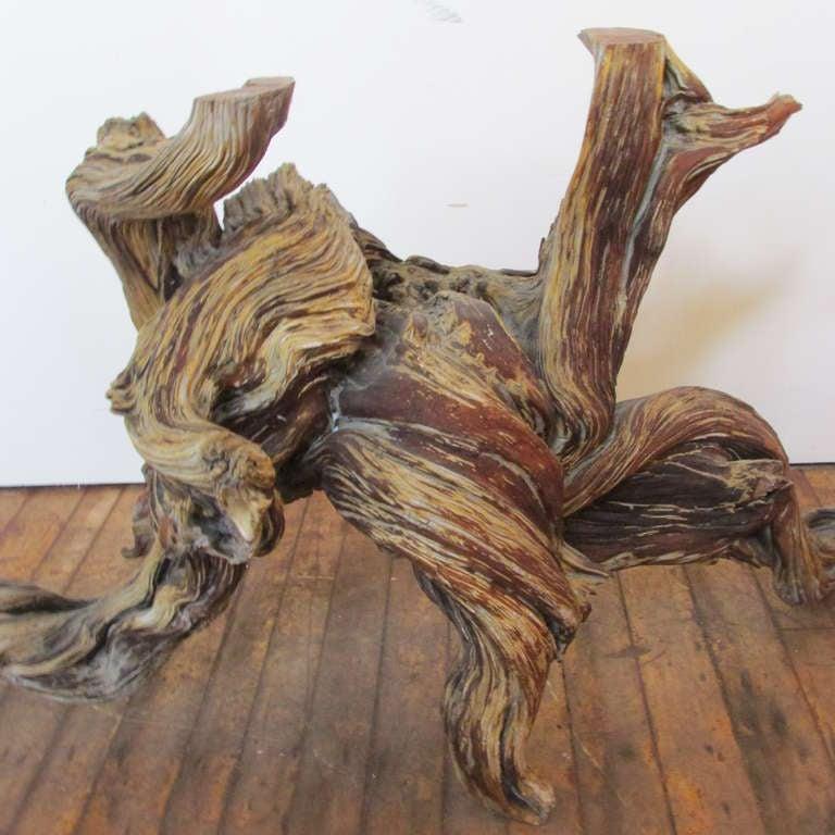 Driftwood Redwood Burl Root Sculpture / Table Base 4