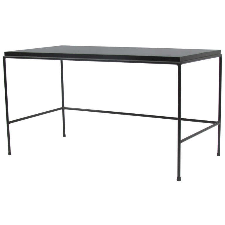 Long Low Coffee Table: Long Iron Low Table By Paul McCobb At 1stdibs
