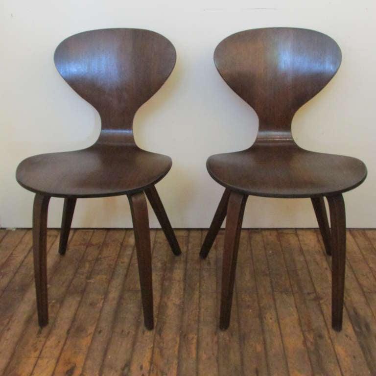 norman cherner plycraft chairs 2