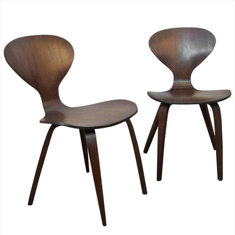 norman cherner plycraft chairs 1