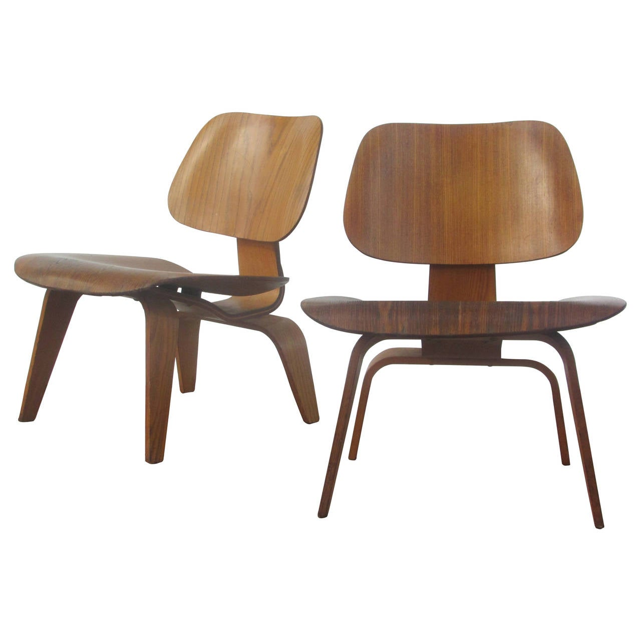 early eames lcw lounge chairs at 1stdibs. Black Bedroom Furniture Sets. Home Design Ideas