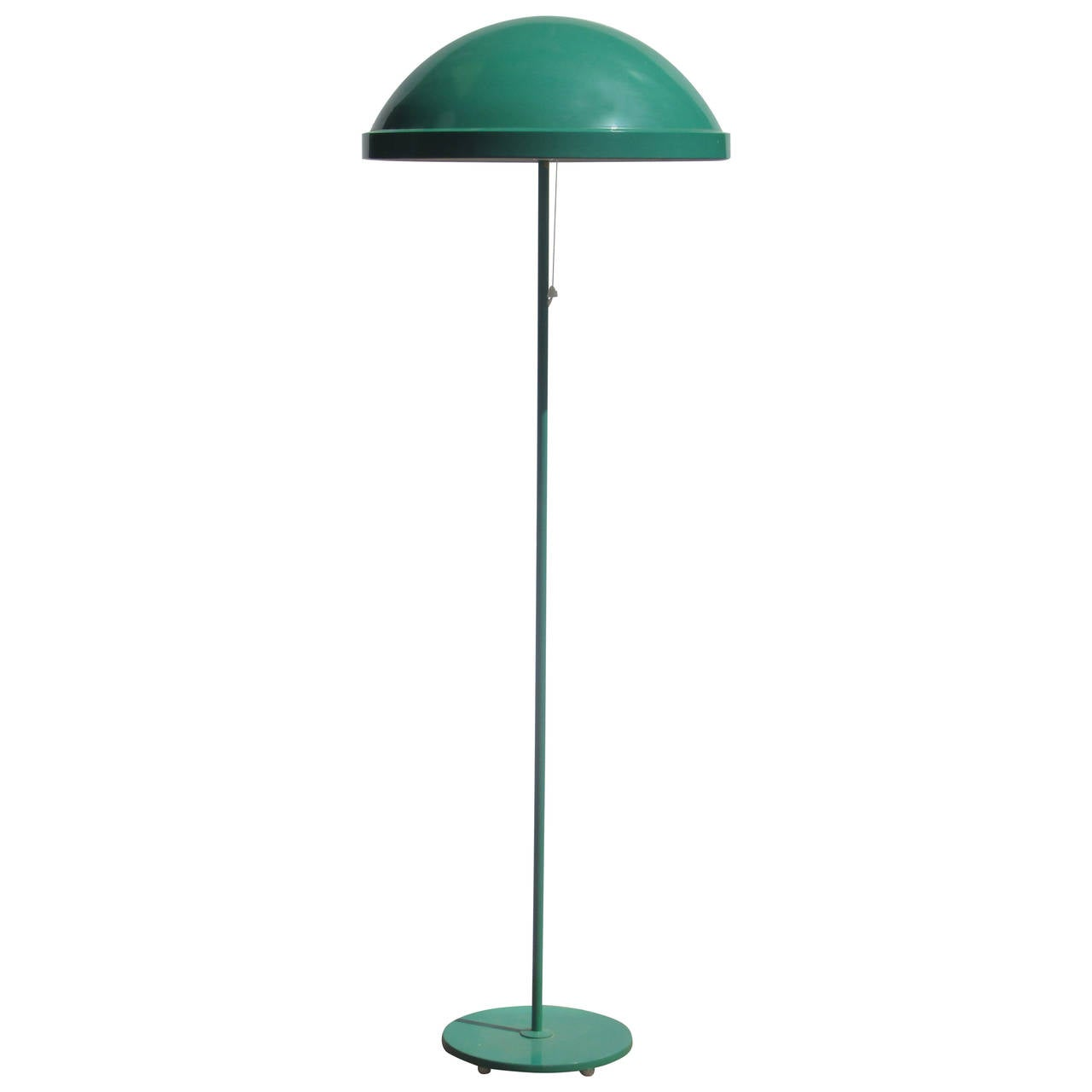 Mid 20th Century Dome-Top Floor Lamp For Sale at 1stdibs