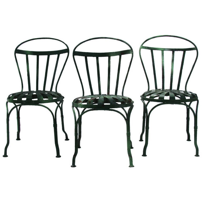early french garden chairs by francois carre at 1stdibs