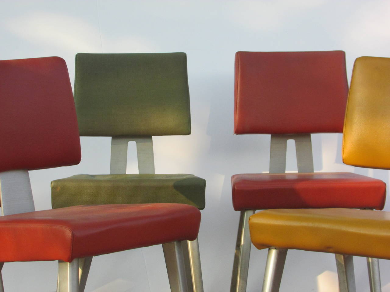 Mid Century Modern Goodform Industrial Task Chairs At 1stdibs