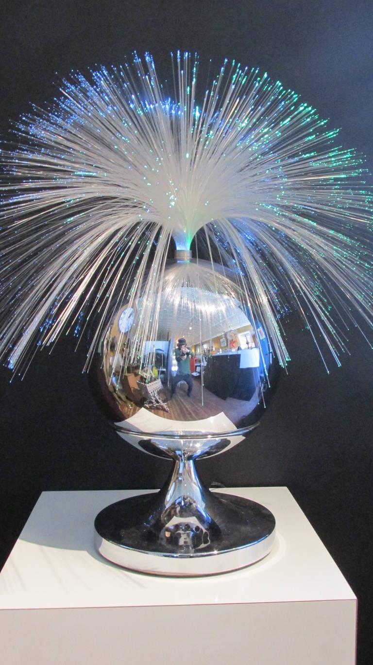fantasia fiber optic rotating lamp at 1stdibs fiber optic cable diagram optical fiber rotating lamp diagram
