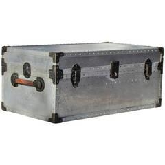 Industrial Riveted Aluminum Trunk