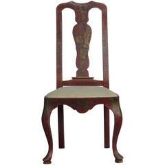 18th Century Style Venetian Chinoiserie Chair