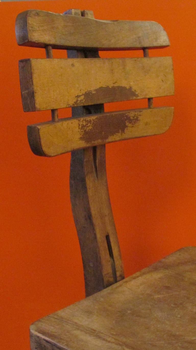 American Industrial Architect Chair Stool At 1stdibs