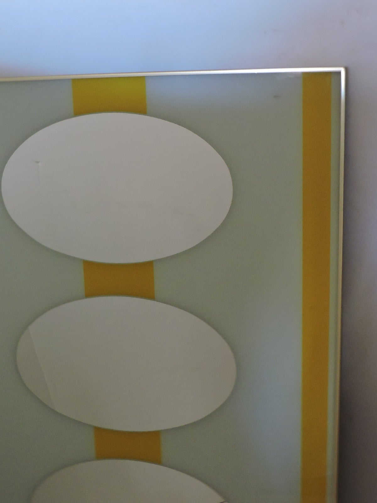 Large Op Art Mirror For At 1stdibs
