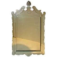 Neoclassical Venetian Glass Mirror