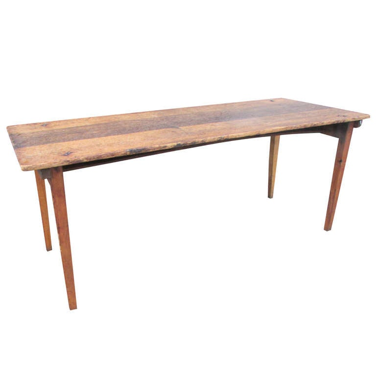 Antique American Folding Grange Table at 1stdibs