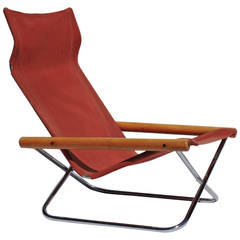 NY Folding Chair by Takeshi Nii, Japan, 1958