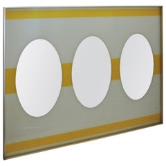 Large Op Art Mirror