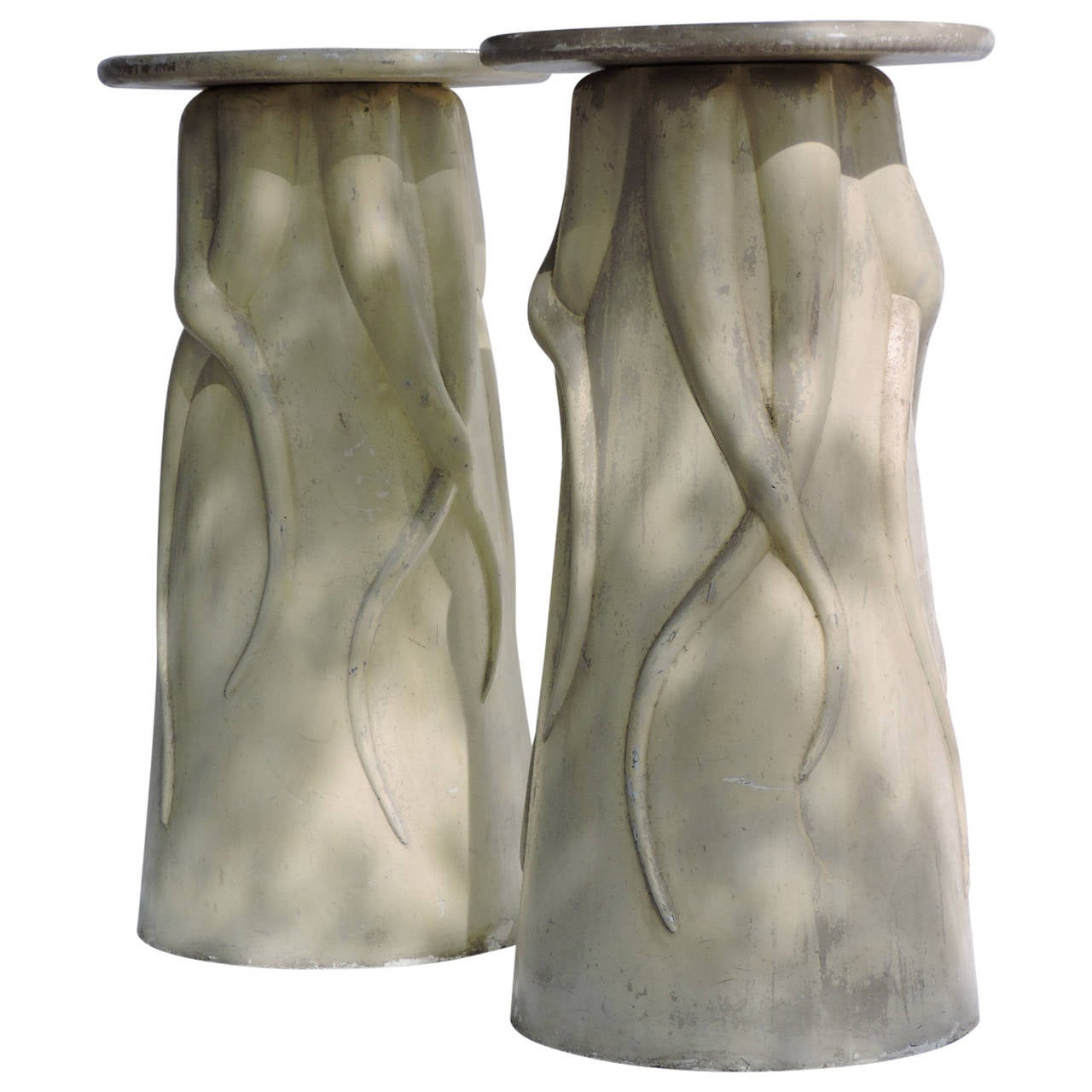 Surrealistic Fiberglass Pedestals
