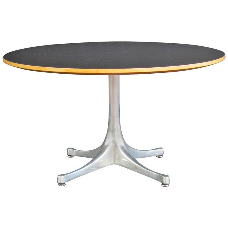 George Nelson Pedestal Base Table For Herman Miller 1