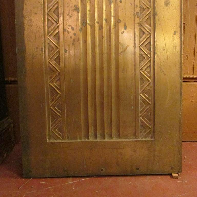 Art Deco Bronze Door For Sale 1