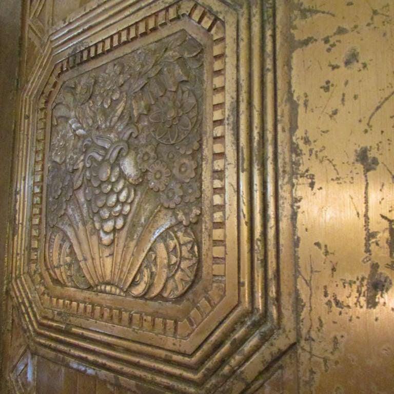 Art Deco Bronze Door For Sale 3