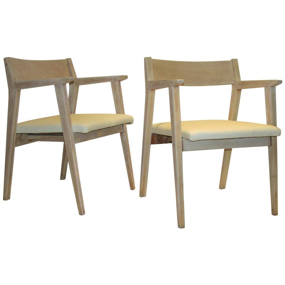 1940s Modernist Armchairs