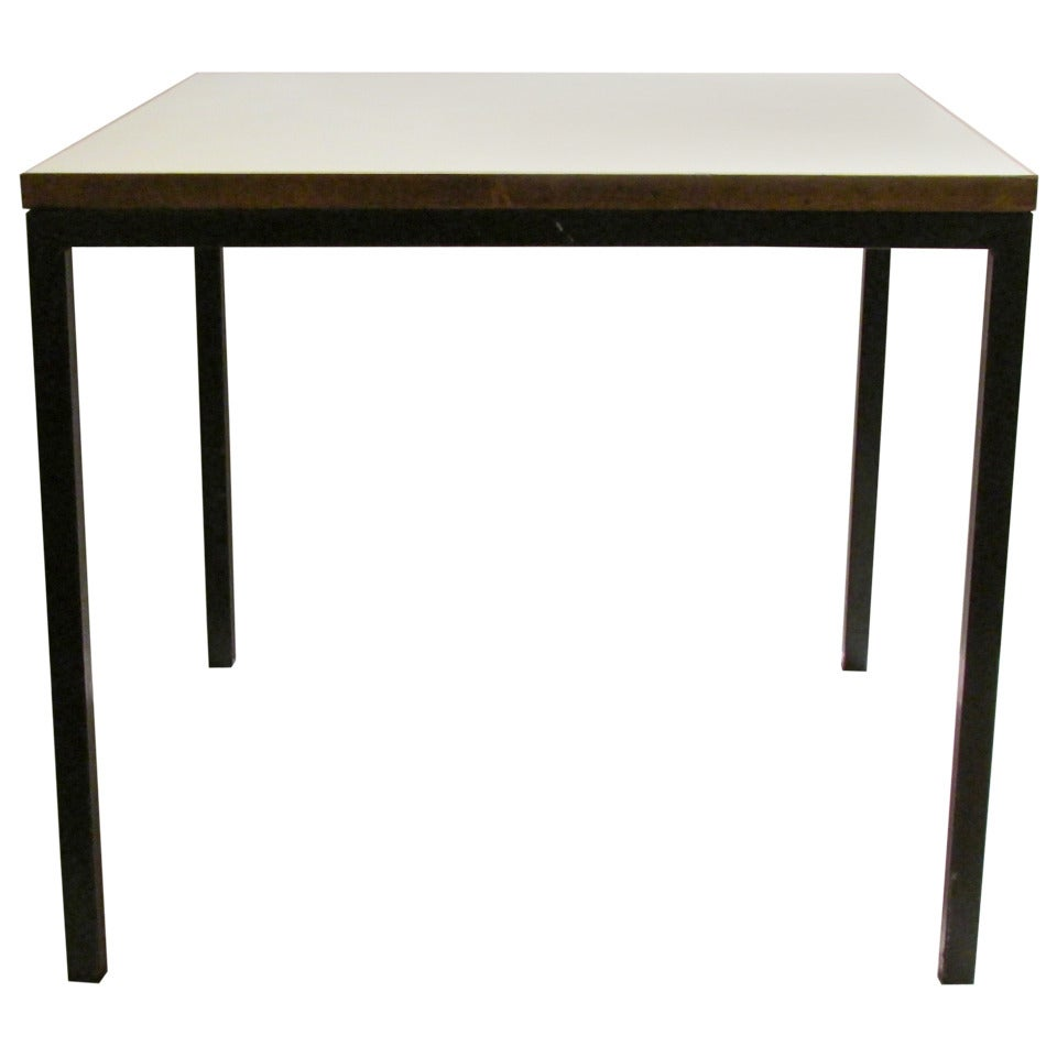 Mid-Century Steel and Laminate Table by Stendig, Finland