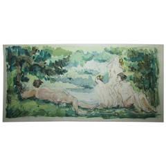 Cezanne - 15 Watercolor Fascimile Prints - Jacomet - Limited 1st Edition 72/225