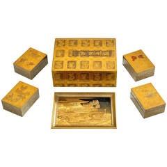 Antique Japanese box