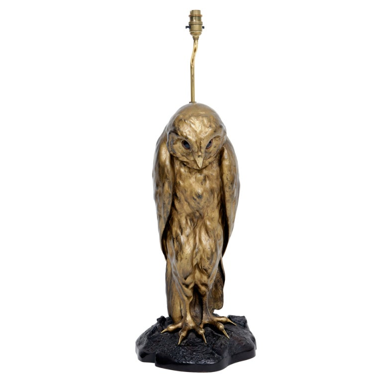 Owl Lamp At 1stdibs
