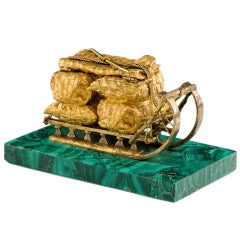 Russian Antique Inkwell