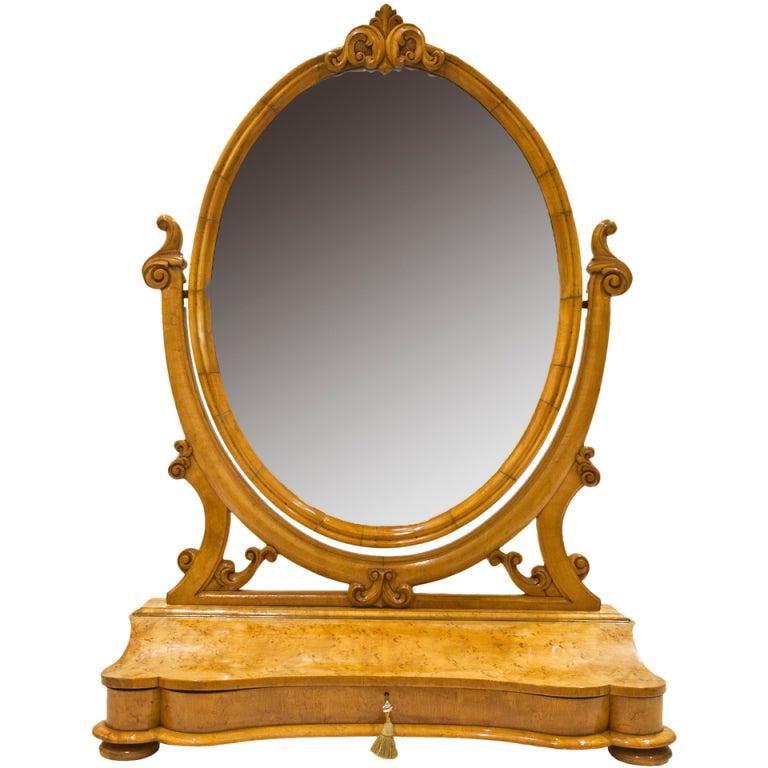 Austrian Dressing Table Mirror at 1stdibs