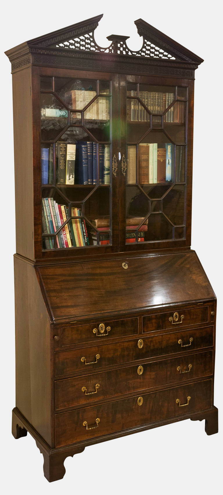 mahogany bureau bookcase for sale at 1stdibs. Black Bedroom Furniture Sets. Home Design Ideas