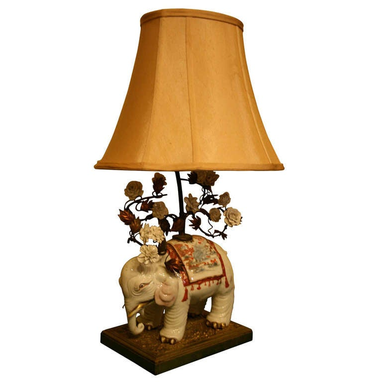 Table Lamp In The Form Of An Elephant 1