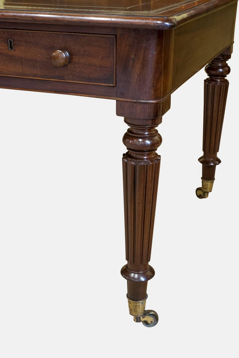 Six drawer mahogany library table for sale at 1stdibs for Table 6 handbook 44