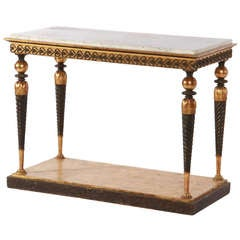 Gustavian Period Swedish Console Table