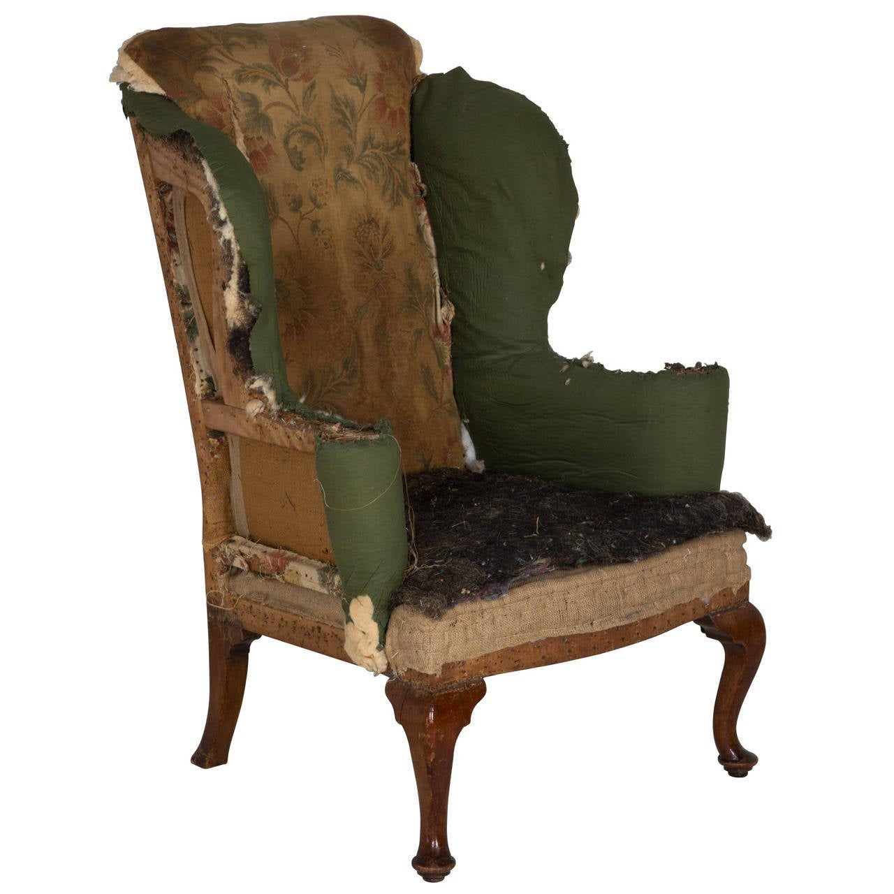 Wing Armchair by Howard and Sons to be Upholstered at 1stdibs