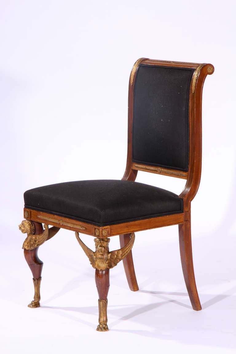 Pair of second empire side chairs at 1stdibs for 2nd hand salon furniture sale