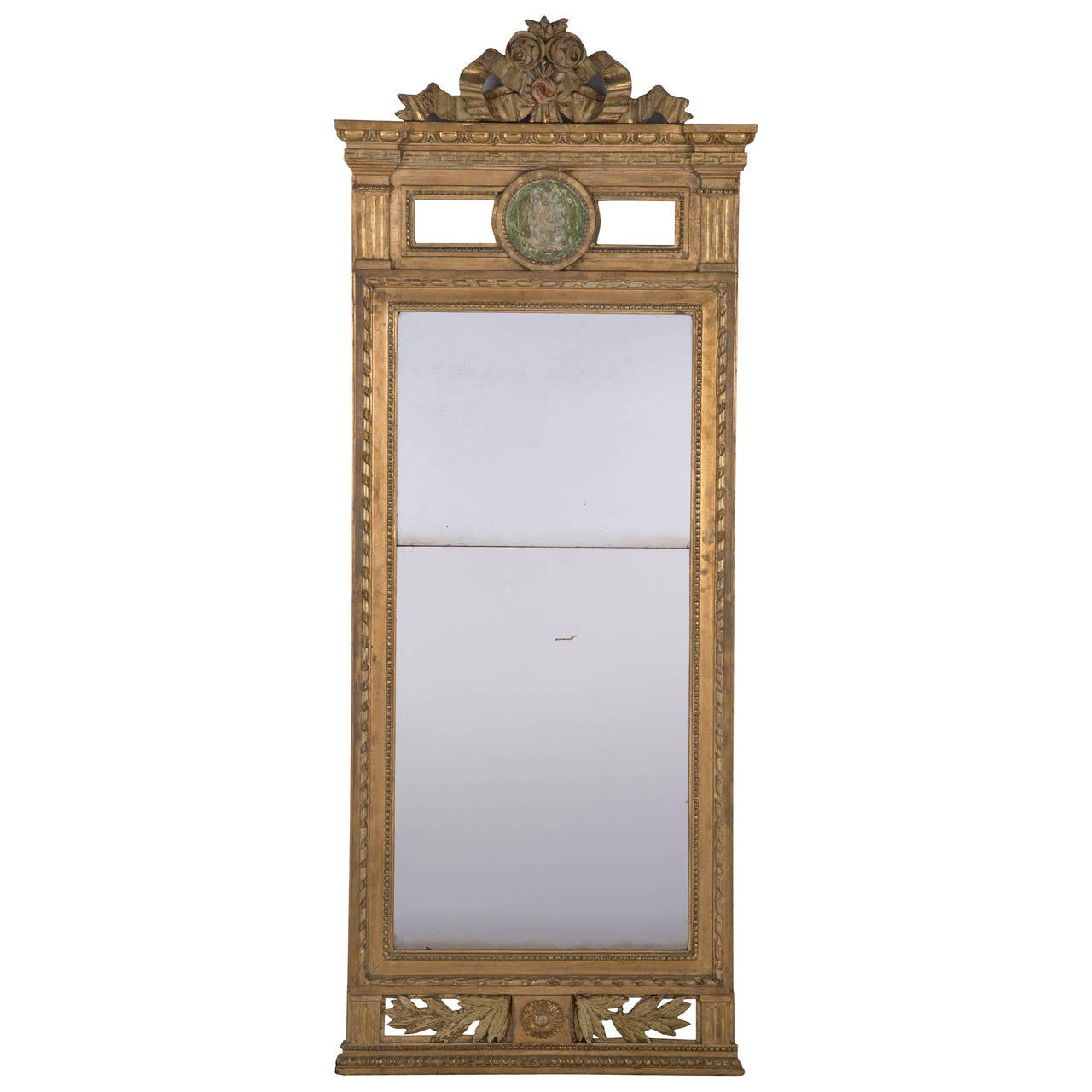 Large gustavian mirror for sale at 1stdibs for Big mirrors for sale