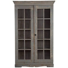Late Gustavian Glazed Bookcase
