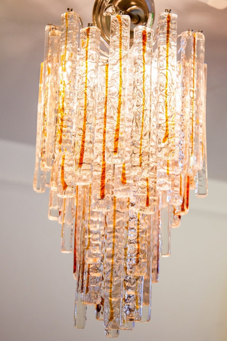 Vintage Murano Chandelier C 1970 S Italy At 1stdibs