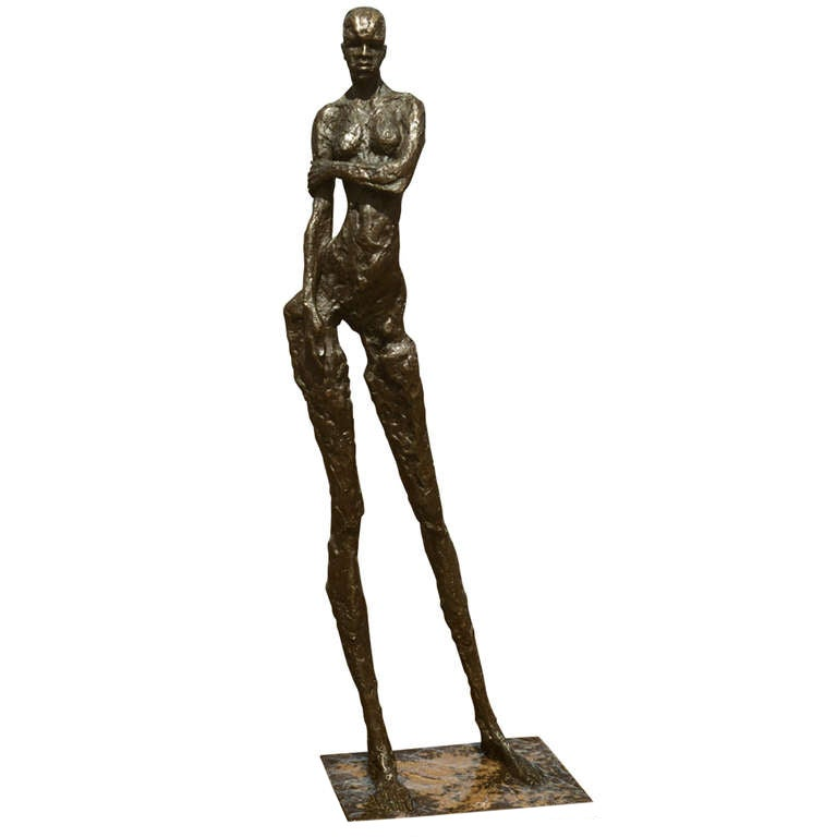 Contemporary Abstract And Figurative Sculpture In Bronze