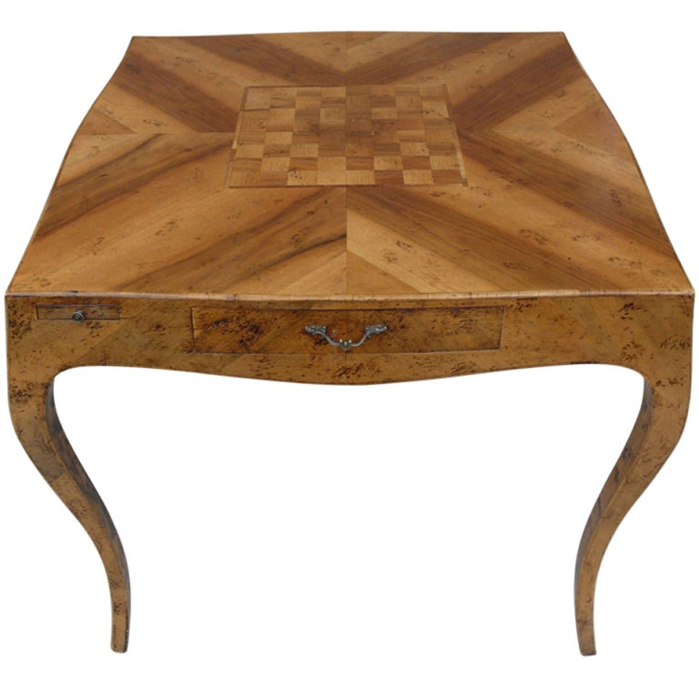 Italian parquetry game table at 1stdibs for 13 in 1 game table