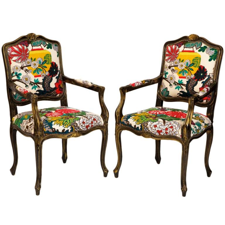 Custom Chiang Mai Dragon Chairs Pair At 1stdibs