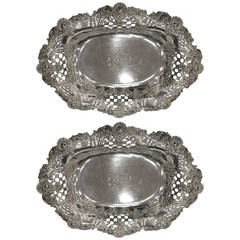 Tiffany and Co. Sterling Silver Garniture Bowl, circa 1900