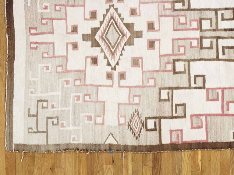 Vintage Navajo Carpet 6