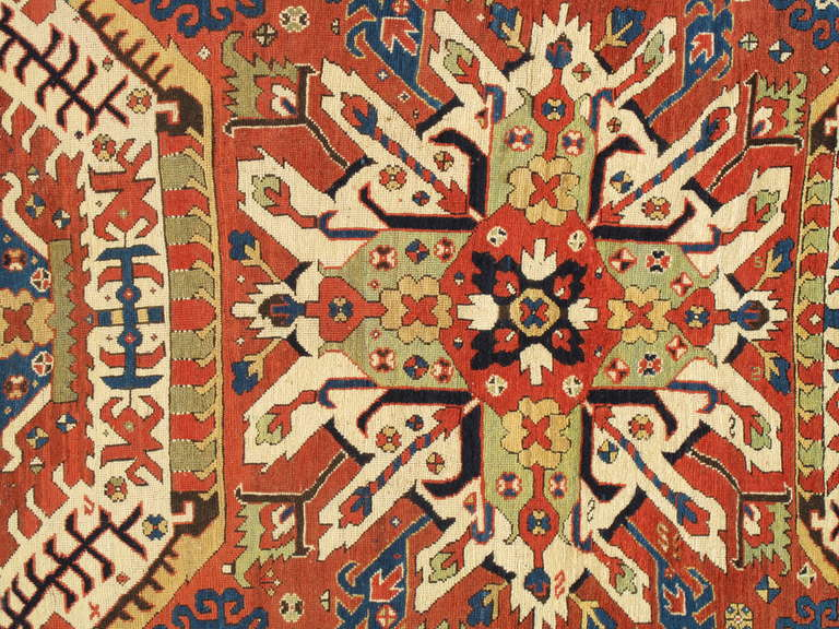 Eagle Kazak rugs are among the most sought after Caucasian rugs. The name