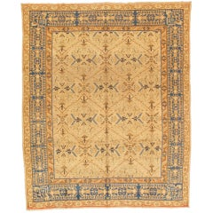 Antique Indian Amirtsar Carpet