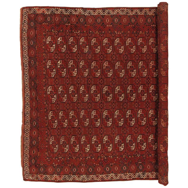 Antique Afghan Bokara Carpet For Sale At 1stdibs