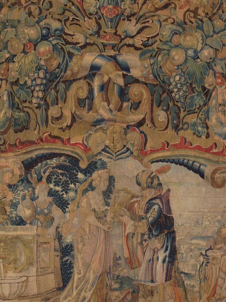 16th Century Flemish Tapestry At 1stdibs