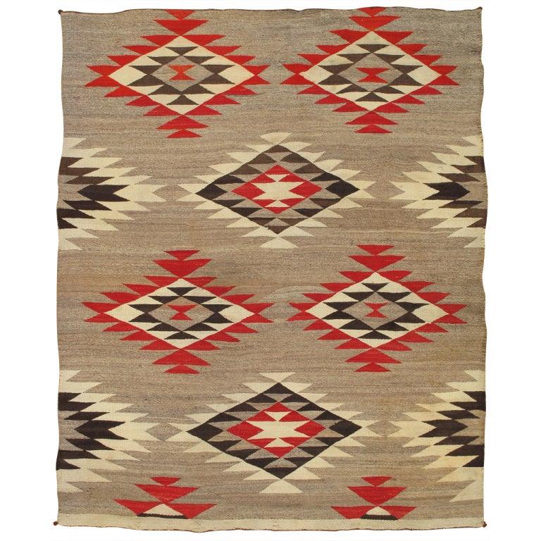 Vintage Navajo Rug At 1stdibs